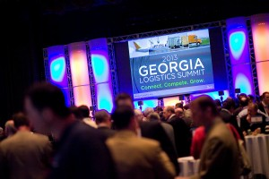 Ballroom of the 2013 Georgia Logistics Summit
