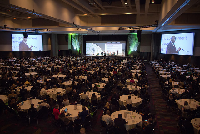Ballroom from the 2015 Georgia Logistics Summit