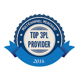 Multichannel Merchant Top 3PL provider 2016 seal