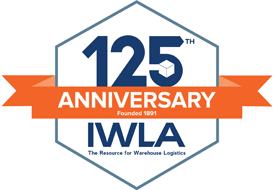 125th Anniversary logo for International Warehousing and Logistics Association