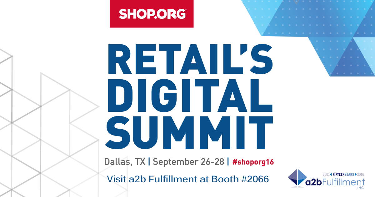 2016 Shop.org Retail's Digital Summit Promotion