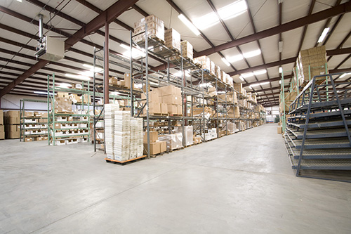 Ambient Warehouse Storage Space