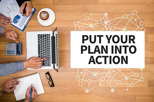 Put Your Fulfillment Plan Into Action