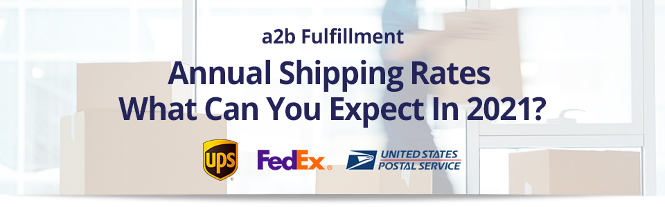 Annual Shipping Rates Guide 2021